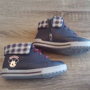 Disney Mickey Mouse High Top Sneakers Size 12 NWOT